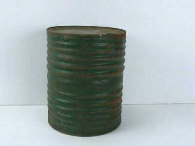 Antique Dupont rifle powder keg old green paint