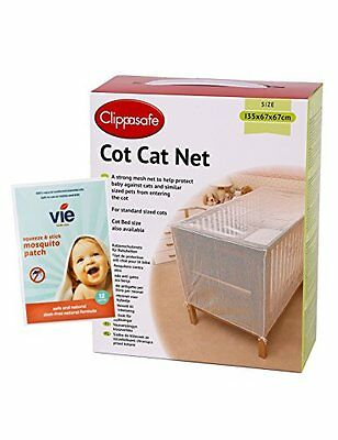 STANDARD COT CAT NET includes complimentary pack of 12 vie squeeze & stick insec