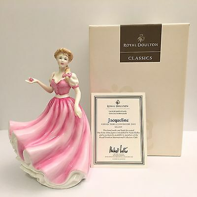 Royal Doulton Jacqueline HN 4309 Collectors Club Figure 2001 New Box Papers