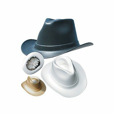 Occunomix VCB100-00 Vulcan Cowboy Style Hard Hat with Squeeze Lock Suspension,
