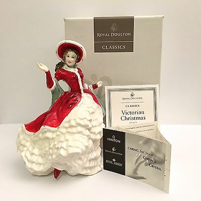 Royal Doulton Classics Victorian Christmas HN 4675 Figure Figurine New Box Paper