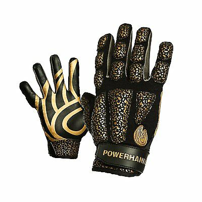 POWERHANDZ Weighted Anti Grip Basketball Gloves Small