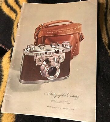 1949 photographic equipnent catalog cameras binoculars projectors 114 pages
