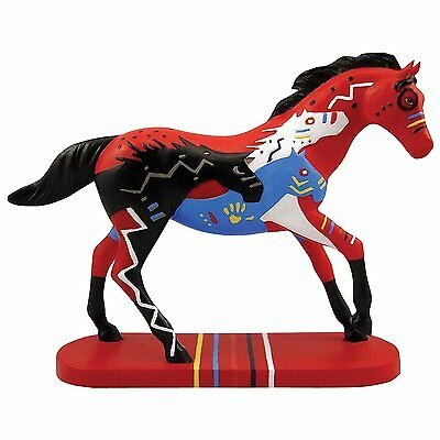 Trail of Painted Ponies Happy Trails Bravehearts Figurine, 4.325-Inch