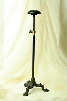 Vintage Style Victorian Shopkeeper`s Millinery Hat Stand Wig Dresser Display