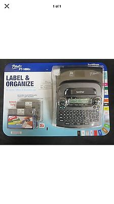New Brother P-Touch PT-1890C Deluxe Home & Office Label & Organizer