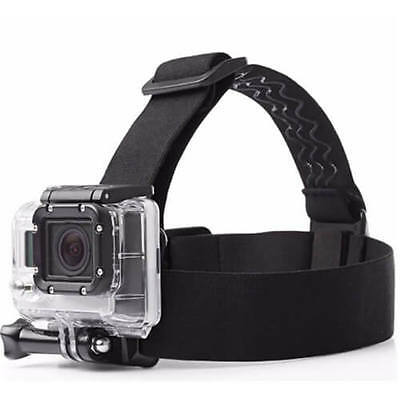 Comfort Antiskid Head Mount Strap Gopro Hero 3 4 5 Xiaomi yi Action Camera CA