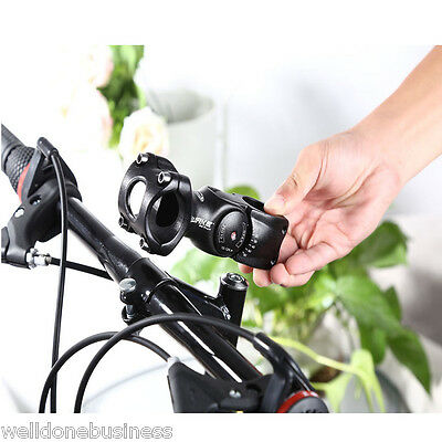 Cycling Bicycle MTB 3D Forged Aluminum Alloy Adjustable Handlebar Stem Riser