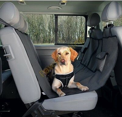 Trixie dog rear seat cover hammock style with pocket strong great quality 13233