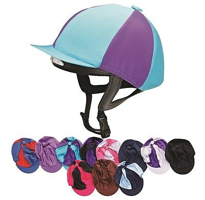 Harry Hall Hat Silk ONE SIZE JOCKEY SKULL COVER ALL COLOURS