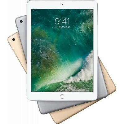APPLE IPAD 9.7 (2017) 128GB WiFi WLAN iOS TABLET PC RETINA DISPLAY KAMERA