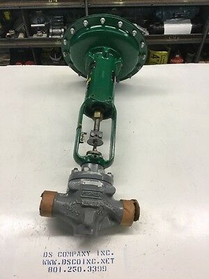 "1 1/2"" 600 NPT Fisher EZ Control Valve W/ Type 667 Size 34 Actuator.  New"