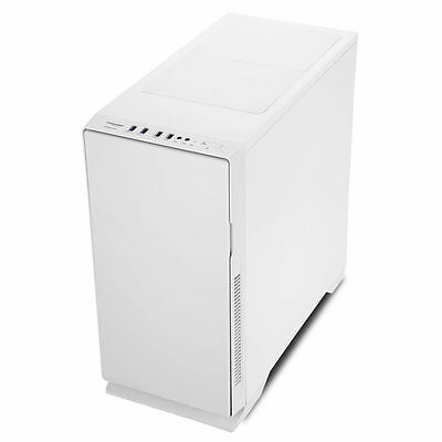 Game Max Silent White Mid ATX Tower Gaming PC Case USB 3.0 Water cooling Ready