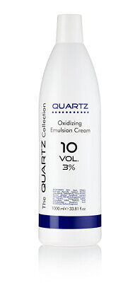 QUARTZ PEROXIDE OXYDANT CREME 3% 10 VOLUME 1 LITRE 1000ml AMAZING QUALITY
