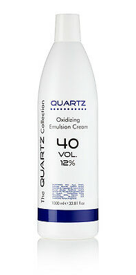 QUARTZ PEROXIDE OXYDANT CREME 12% 40 VOLUME 1 LITRE 1000ml AMAZING QUALITY