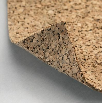 Rolled Cork 10m² Castor 2mm Strong Floor Mat Impact Sound Insulation Isolation