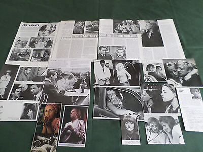 Jeanne Moreau - Film Star - Clippings /cutting Pack