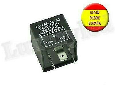 Rele Intermitentes Led Flasher Cf13 3 Pin 12V 0,02-20A Coche Moto