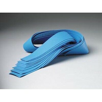 "Tourniquet, Powder Free, 18"" x 1"", Blue Synthetic Rubber, Latex Free  500 PK"