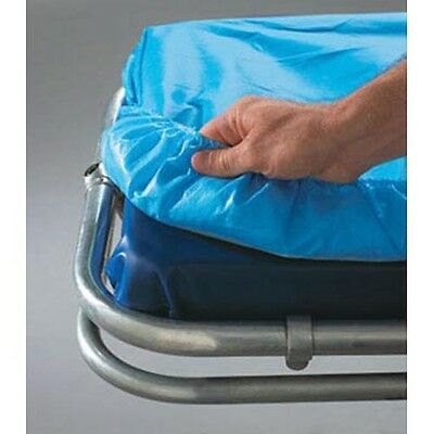 """SnugFit Fitted Sheet, EMS Barrier, 30"""" x 84"""", Non-Woven, Poly, Blue  10 PK"""