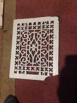 antique cast iron vent grate vintage