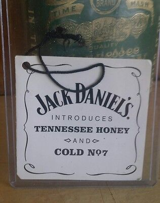 ↗ 2011, TENNESSEE HONEY INTRODUCTORY ↖  Jack Daniels ☆☆ HANG TAG  ☆☆ COLD NO7