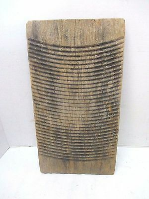 Antique Primitive All Wood Washboard Laundry Room Vintage Washing Clothes