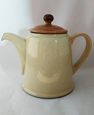 Denby Energy Cinnamon Large 4 Cup Teapot With Lid