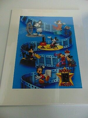 Mickey Mouse Disney Lithograph 35Mm Film Cell Print #4047/5000 Gm789