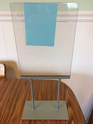 """SIGN HOLDER RETAIL DISPLAY Counter top Table Business Flea Market Wedding 20"""""""