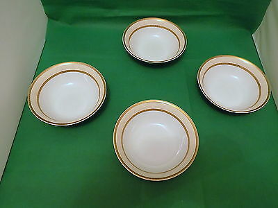 Rayware Regency Gold Cereal Bowls x 4