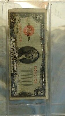 United states, us 1928 two (2) dollar bill