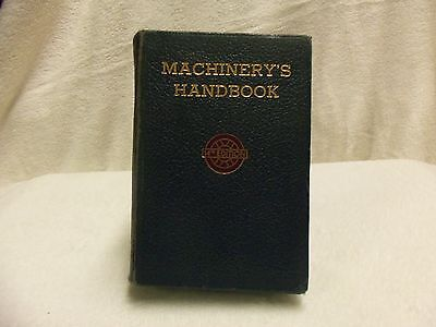 VINTAGE MACHINERY'S HANDBOOK 14th EDITION 1953