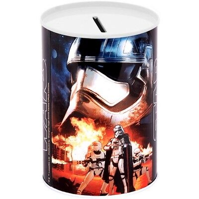 Promobo - Tirelire Métal Licence Disney Décor Stars Wars Star Troppers Flamme