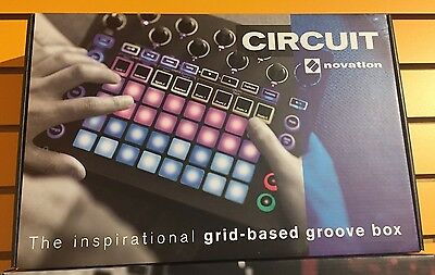 Novation Circuit - Grid-Based Groove Box Controller and Interface
