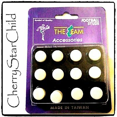 12 x high quality Nylon screw in football soccer studs 16mm 13mm in box