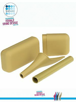 Aussie Shewee Sand Travel Kit - The Original Female She Wee Urination Device!