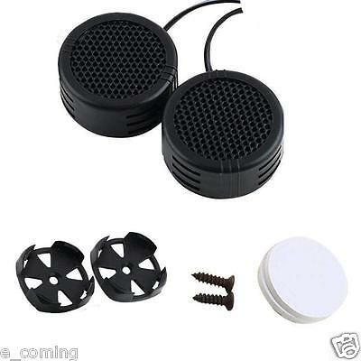 2 x 500 Watts Super Power Loud Dome Tweeter Speakers for Car 500W NEW