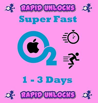 UNLOCK Service for iPhone 7 & 7 PLUS O2 & Tesco & GiffGaff UK Super Fast
