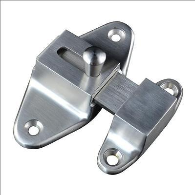 Solid casting SUS304 stainless steel bolt anti-theft door with safety buckle
