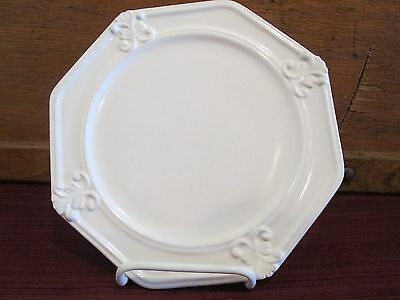"Jcpenney Vintage Ivory Salad Plate- 8"" 1209C"