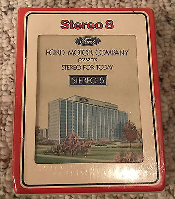 NOS Ford Stereo for Today 8 Track Cassette 1975 1976