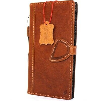 genuine retro leather Case for apple iphone 7 plus book wallet cover slim magnet