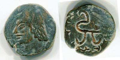 (7490)Chach, Unknown Ruler, 3-5 Ct AD