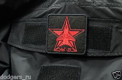 Mig 29, Russian Tactical morale military patch