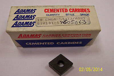 CNGA 543 T3 AS21 ADAMAS Ceramic  Inserts (10pcs) New&Original