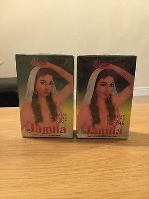 2x100g Jamila Henna Powder Body Art Quality Summer Crop 2016 Latest Uk Seller