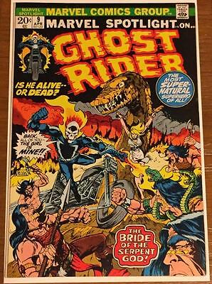 (Comic Book) Marvel Spotlight #9 (1973 Ghost Rider Vf/nm 9.0)