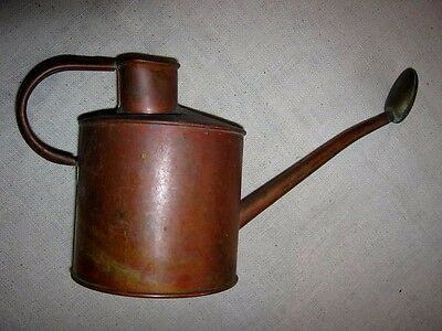 Vintage Copper Watering Can-Brass Nozzle