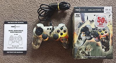 Sony Playstation 2 - Collectors Edition Power Wave Urban Warfare Controller Ps2